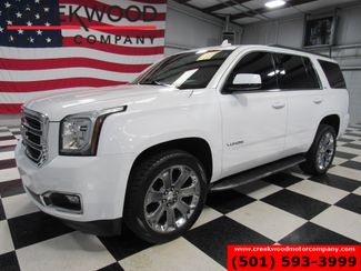 2016 GMC Yukon SLT 4x4 White 22s Leather Nav Roof Tv Dvd 1 Owner in Searcy, AR 72143