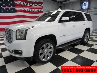 2016 GMC Yukon SLT 4x4 White 22s New Tires Leveled Nav Dvd 1Owner in Searcy, AR 72143