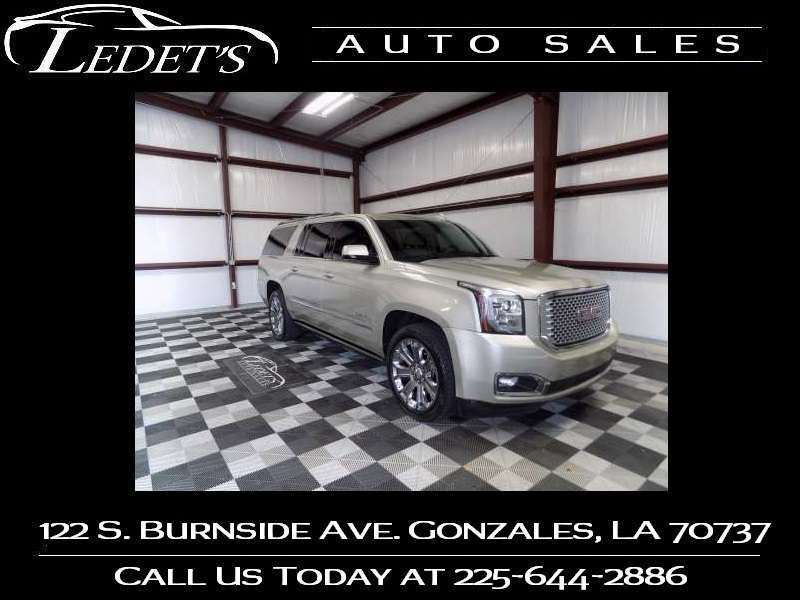 2016 GMC Yukon XL Denali - Ledet's Auto Sales Gonzales_state_zip in Gonzales Louisiana