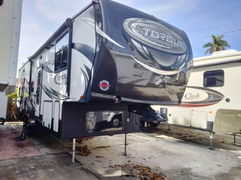 2016 Heartland 291 36' Torque Toy Hauler with Generator Rear Porch with 2 slides in Palmetto, FL
