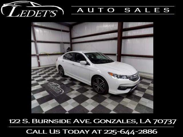 2016 Honda Accord Sport - Ledet's Auto Sales Gonzales_state_zip in Gonzales
