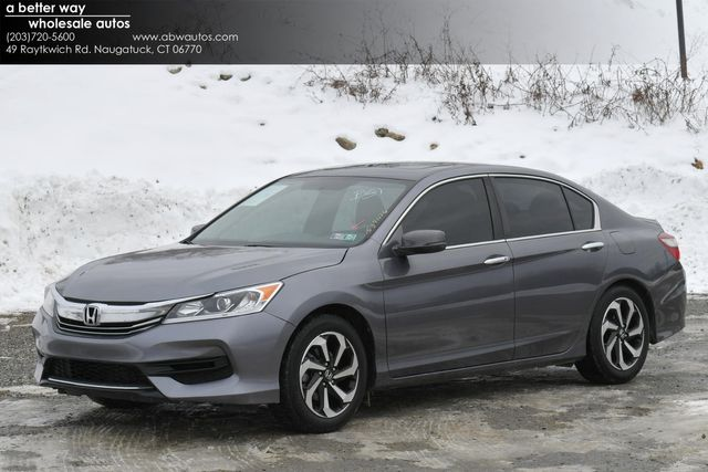 2016 Honda Accord EX Naugatuck, Connecticut