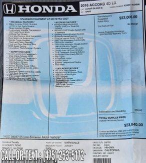 2016 Honda Accord LX Waterbury, Connecticut 25