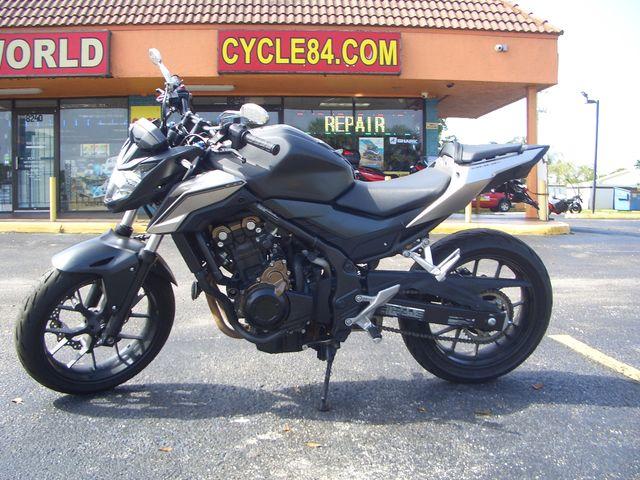 2016 Honda CB500F in Davie, FL 33324