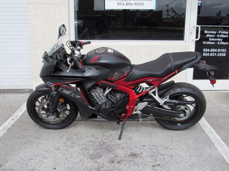 2016 Honda CBR650F   city Florida  Top Gear Inc  in Dania Beach, Florida