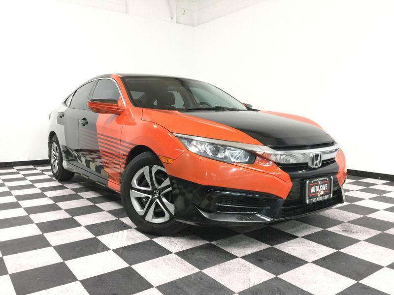 2016 Honda Civic *2016 Honda Civic*LX Sedan CVT*   The Auto Cave in Addison
