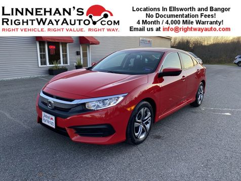 2016 Honda Civic LX in Bangor