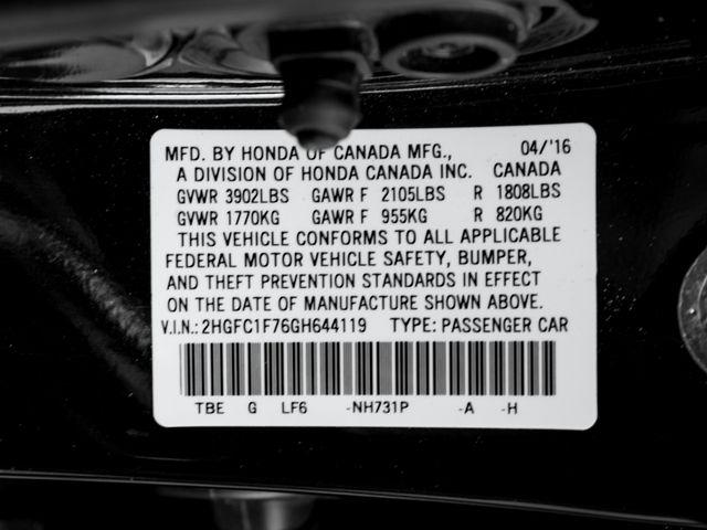 2016 Honda Civic EX-L Burbank, CA 28
