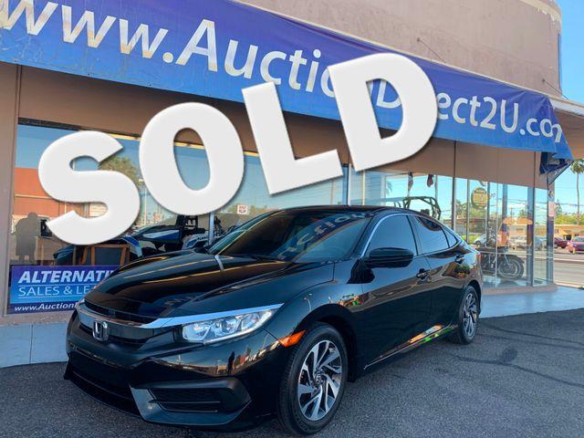 2016 Honda Civic EX 5 YEAR/60,000 MILE FACTORY POWERTRAIN WARRANTY Mesa, Arizona