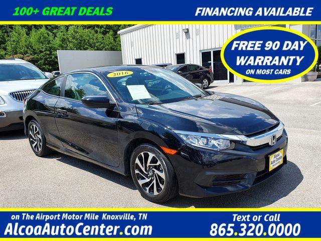 "2016 Honda Civic LX-P Push Start w/Sunroof/16"" Alloys in Louisville, TN 37777"