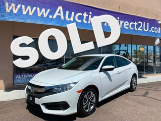 2016 Honda Civic LX 5 YEAR/60,000 MILE FACTORY POWERTRAIN WARRANTY Mesa, Arizona