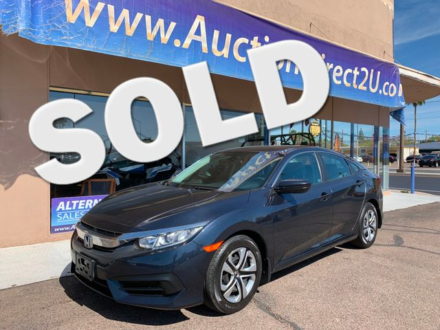 2016 Honda Civic LX 5 YEAR/60,000 MILE FACTORY POWERTRAIN WARRANTY Mesa, Arizona
