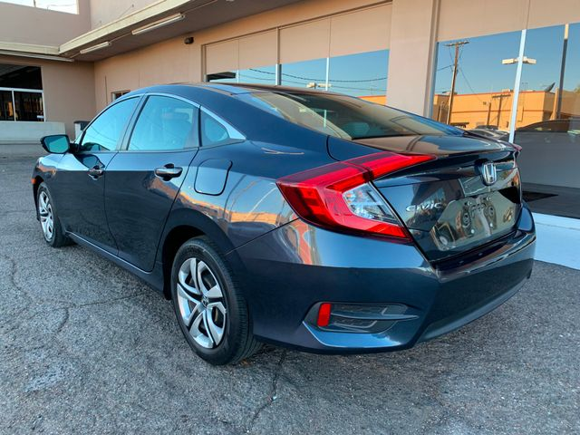 2016 Honda Civic LX 5 YEAR/60,000 MILE FACTORY POWERTRAIN WARRANTY Mesa, Arizona 2