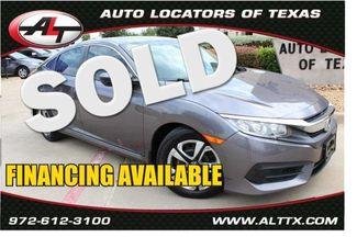 2016 Honda Civic LX | Plano, TX | Consign My Vehicle in  TX