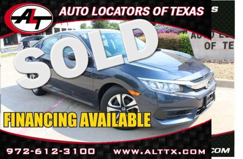2016 Honda Civic LX | Plano, TX | Consign My Vehicle in Plano TX