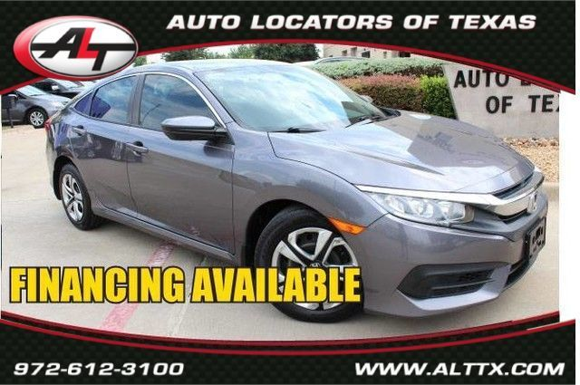 2016 Honda Civic LX in Plano, TX 75093