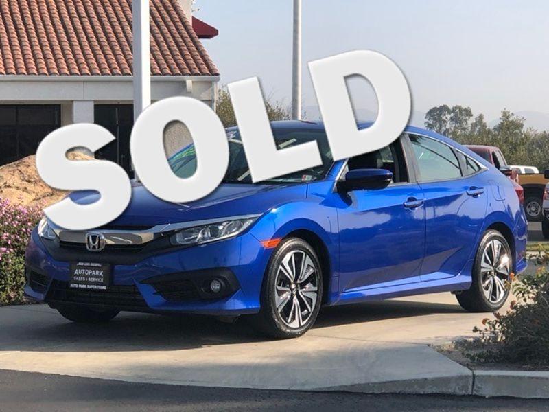 2016 Honda Civic EX-L   San Luis Obispo, CA   Auto Park Sales & Service in San Luis Obispo CA