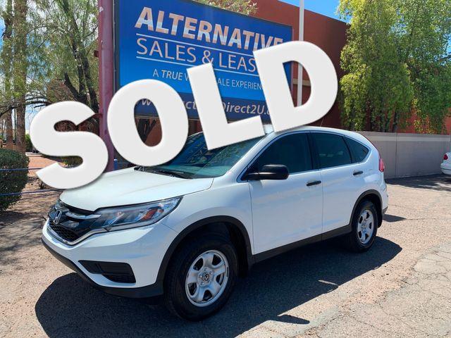 2016 Honda CR-V LX 5 YEAR/60,000 FACTORY POWERTRAIN WARRANTY Mesa, Arizona