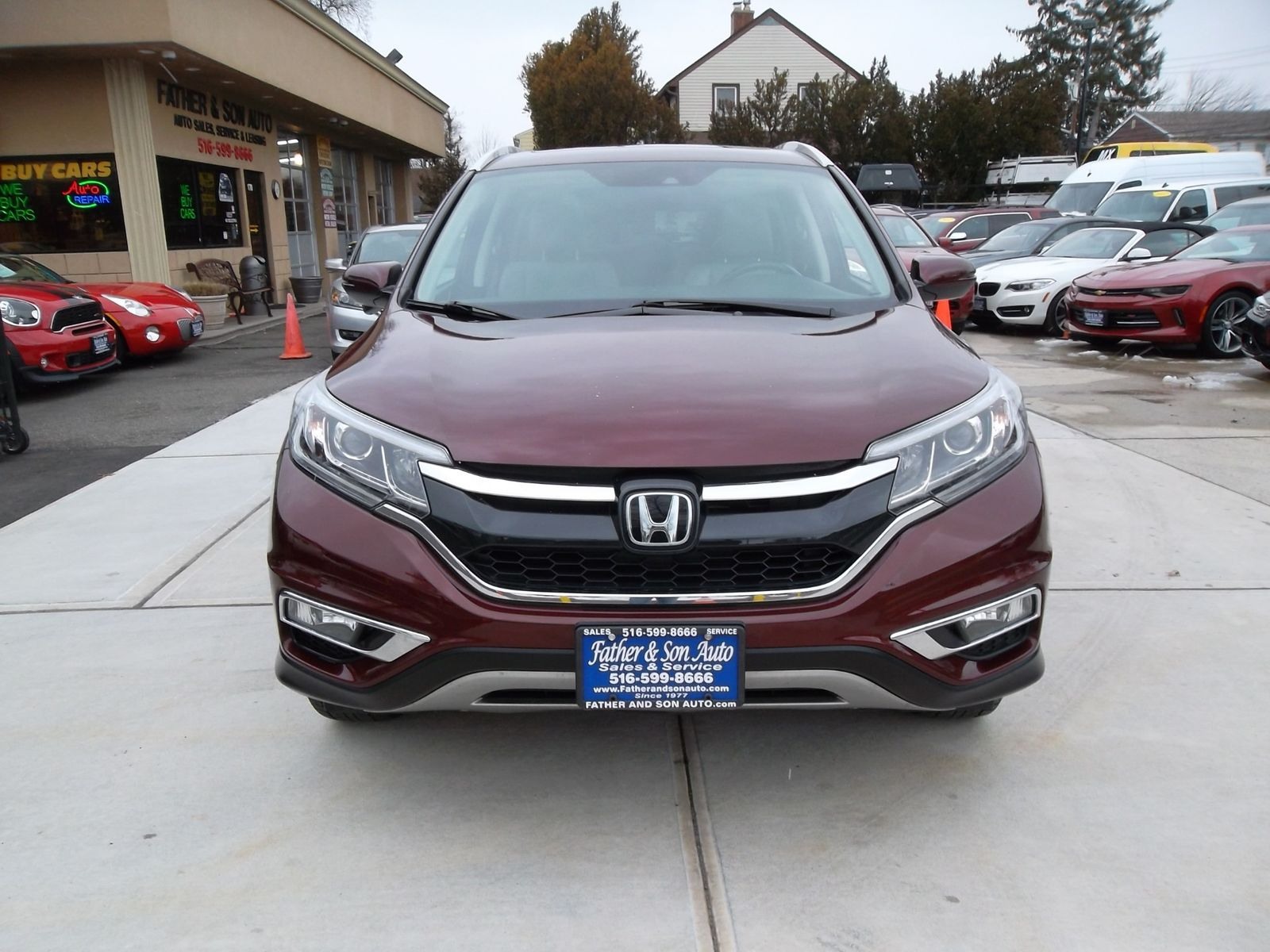 2016 Honda Cr V Touring City New Father Son Auto Corp In Lynbrook