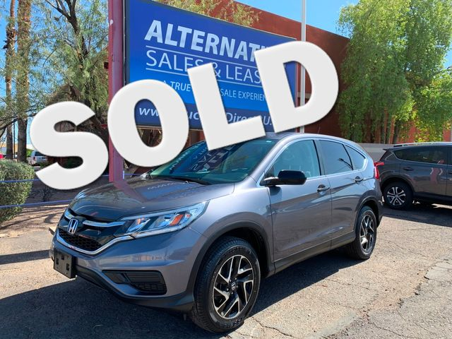 2016 Honda CR-V SE 5 YEAR/60,000 MILE FACTORY POWERTRAIN WARRANTY Mesa, Arizona
