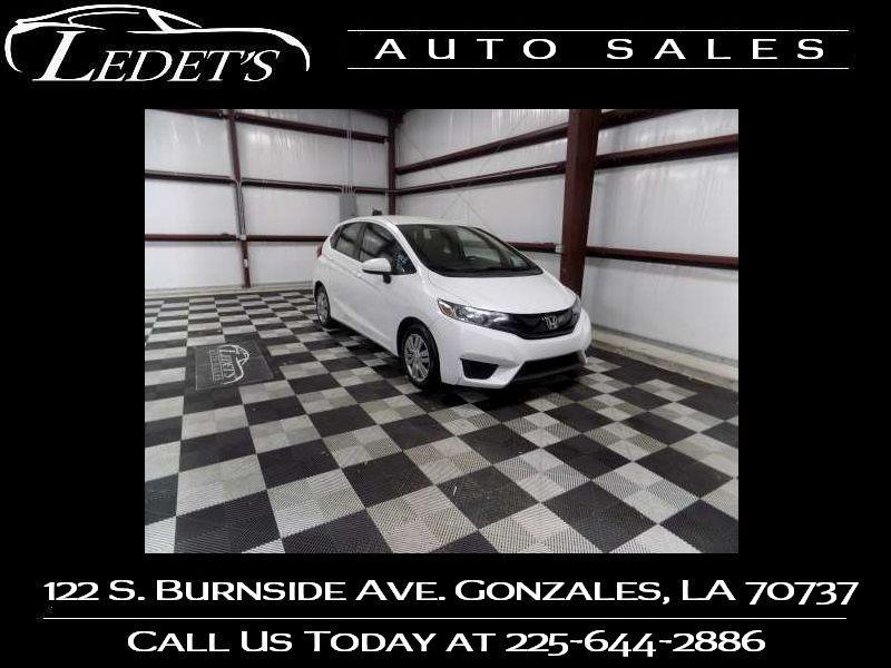 2016 Honda Fit LX - Ledet's Auto Sales Gonzales_state_zip in Gonzales Louisiana
