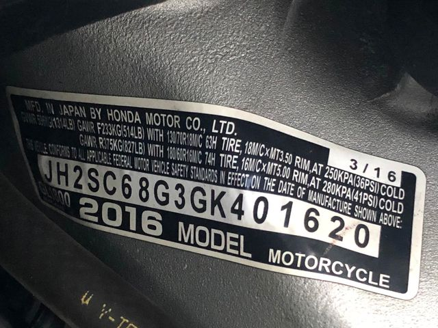 2016 Honda Gold Wing GL1800 in Dania Beach , Florida 33004