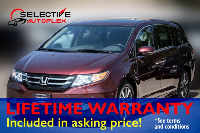 2016 Honda Odyssey Touring*TV/DVD*Navigation*Leather*