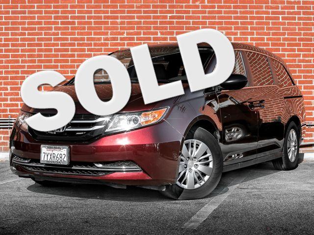2016 Honda Odyssey LX Burbank, CA 0