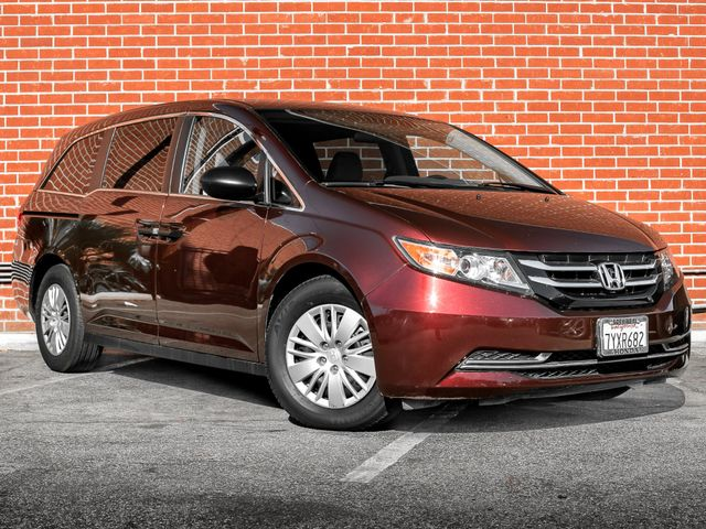 2016 Honda Odyssey LX Burbank, CA 1