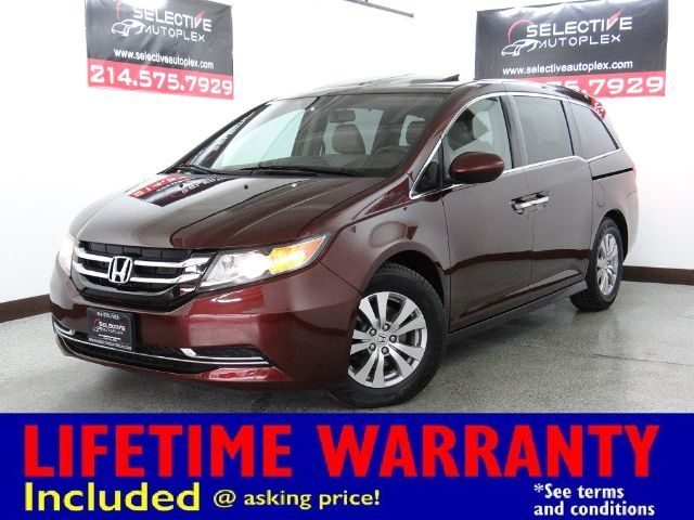 2016 Honda Odyssey EX-L, LEATHER SEATS, SUNROOF, LANEWATCH CAM
