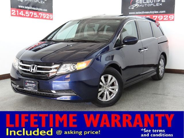 2016 Honda Odyssey EX-L, LEATHER SEATS, REAR VIEW/LANEWATCH CAM