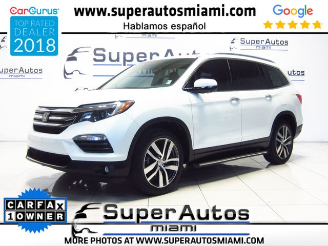 2016 Honda Pilot Elite AWD with 3rd Row Seats in Doral, FL 33166