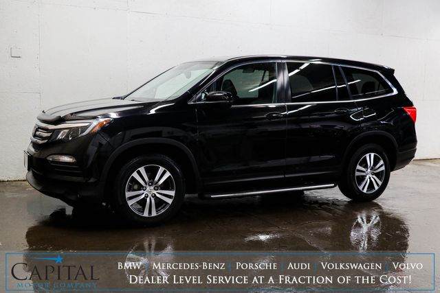 2016 Honda Pilot EX-L 4WD Luxury SUV w/3rd Row Seats, DVD Entertainment, Heated Seats & Backup Cam in Eau Claire, Wisconsin 54703