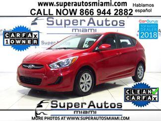 2016 Hyundai Accent 5-Door SE in Doral FL, 33166