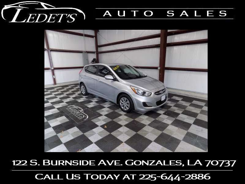 2016 Hyundai Accent 5-Door SE - Ledet's Auto Sales Gonzales_state_zip in Gonzales Louisiana