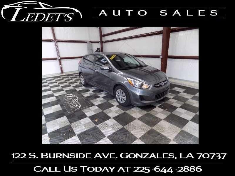 2016 Hyundai Accent 5-Door SE - Ledet's Auto Sales Gonzales_state_zip in Gonzales Louisiana