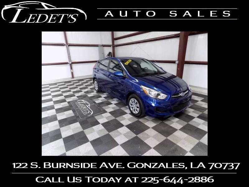 2016 Hyundai Accent  SE - Ledet's Auto Sales Gonzales_state_zip in Gonzales Louisiana