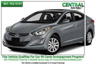 2016 Hyundai Elantra SE | Hot Springs, AR | Central Auto Sales in Hot Springs AR