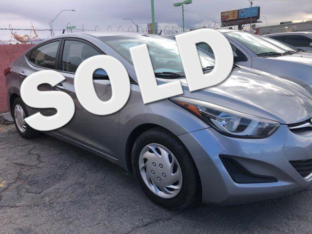 2016 Hyundai Elantra SE CAR PROS AUTO CENTER (702) 405-9905 Las Vegas, Nevada