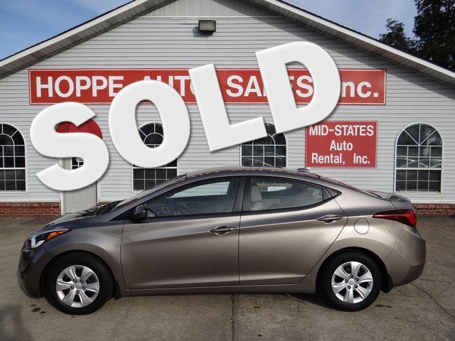 2016 Hyundai Elantra SE   Paragould, Arkansas   Hoppe Auto Sales, Inc. in  Arkansas