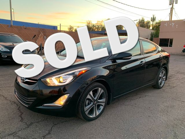 2016 Hyundai Elantra Sport 3 MONTH/3,000 MILE NATIONAL POWERTRAIN WARRANTY Mesa, Arizona