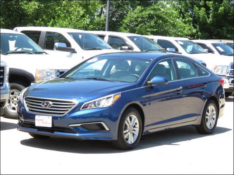 2016 Hyundai Sonata 2 4l Se Lakeside Blue