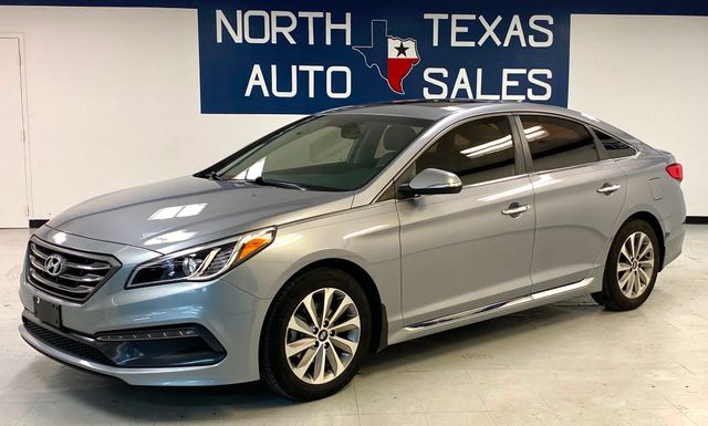 2016 Hyundai Sonata 2.4L Sport 1 Owner Nav Sunroof Back Up Camera in Dallas, TX 75247