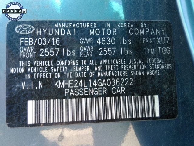 2016 Hyundai Sonata Hybrid SE Madison, NC 12