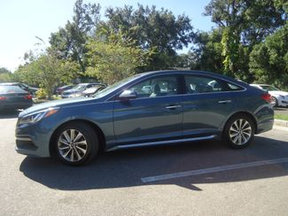 2016 Hyundai Sonata Sport PREM PKG. LEATHER. BLIND SPOT. PUSH STRT SEFFNER, Florida 4
