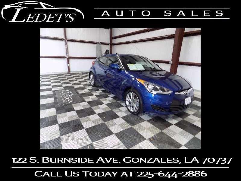 2016 Hyundai Veloster  - Ledet's Auto Sales Gonzales_state_zip in Gonzales Louisiana