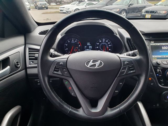 2016 Hyundai Veloster 1.6L Turbo 3dr Coupe DCT w/Black Leather Seats in Louisville, TN 37777