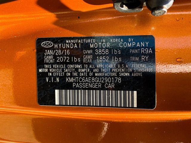 2016 Hyundai Veloster Turbo Madison, NC 36