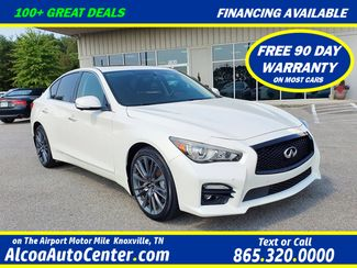 2016 Infiniti Q50 3.0t Red Sport 400 AWD Premium Plus w/Tech in Louisville, TN 37777
