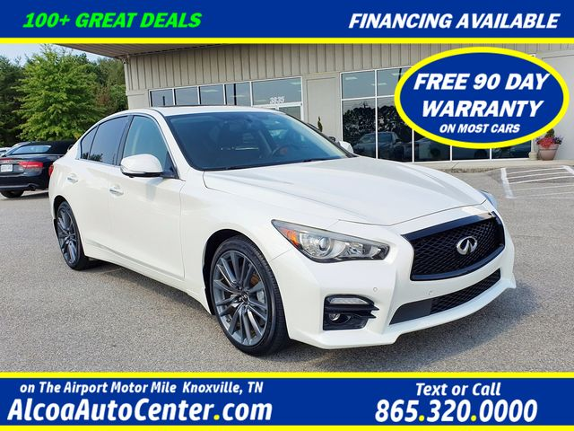 2016 Infiniti Q50 3.0t Red Sport 400 AWD Premium Plus w/Tech